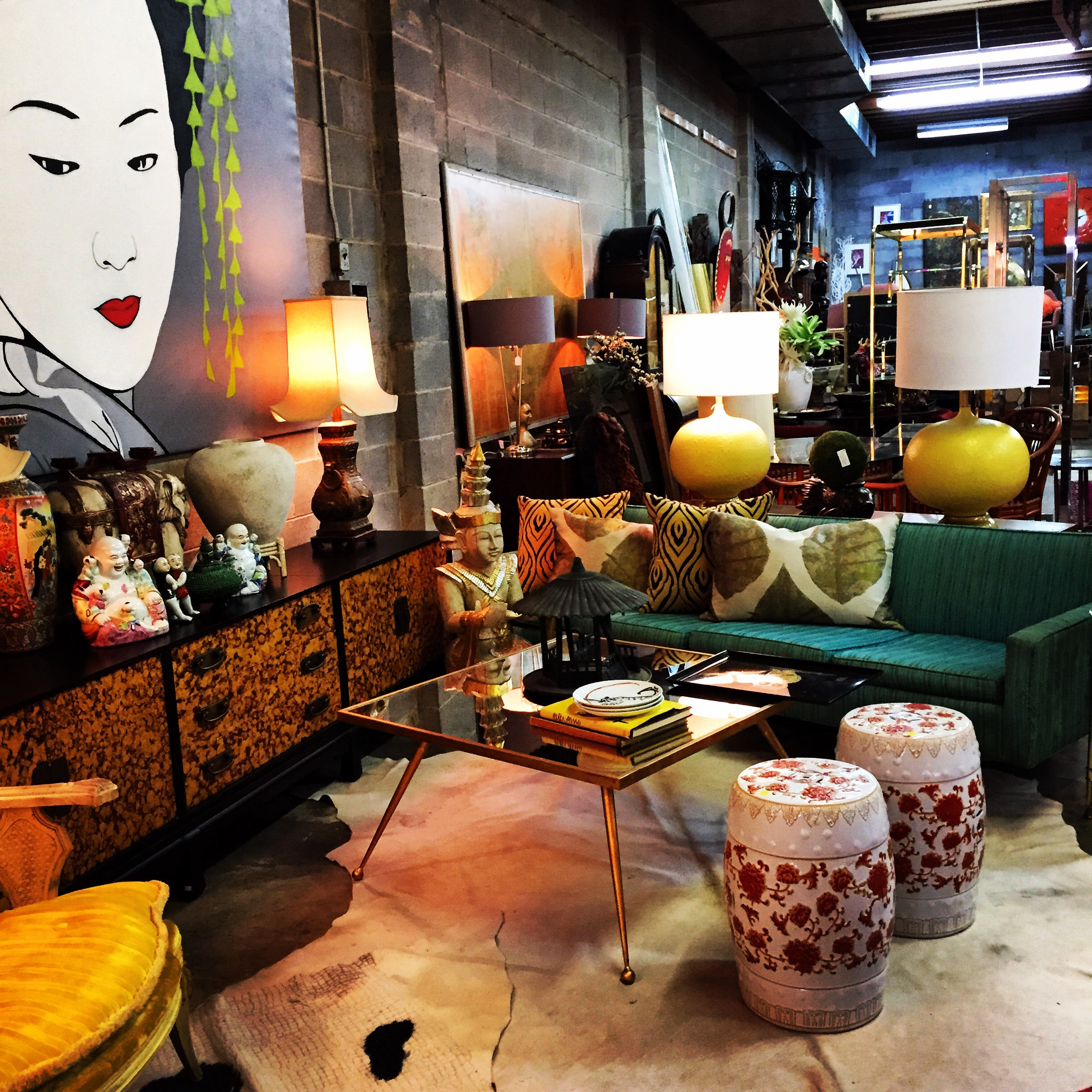 One Of My All Time Favorite Places To Find Unique Pieces Is Verve Home Furnishings At 4903 W Leigh St Owner Kim Vincze S Love For Asian Inspired Decor And